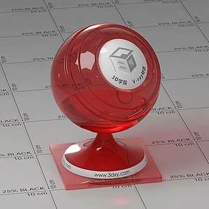 酒精Vary材質球球
