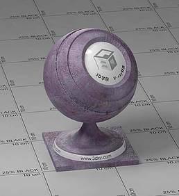 紫色皮革vray材质