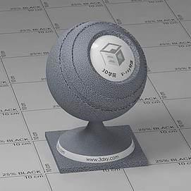 灰色皮革Vary材质球