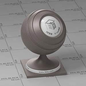 咖啡色皮革Vary材質球