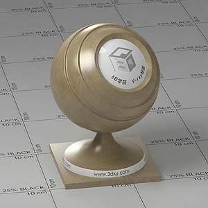橄欖色皮革Vary材質球