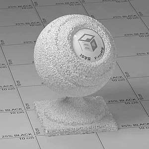 泡沫Vary材質球
