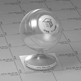 pvc塑料Vary材质球