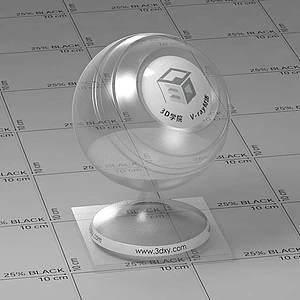 pvc塑料Vary材質球