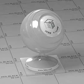 聚丙烯Vary材质球