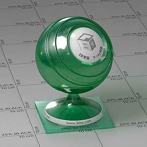 二極管Vary材質球