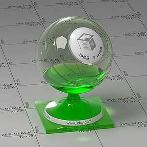 熒光棒Vary材質球