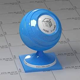塑料Vary材质球