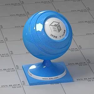 塑料Vary材質球
