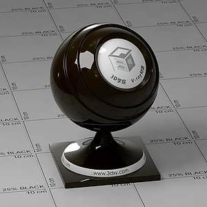 膠片Vary材質球球
