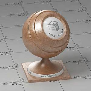 棕色皮革Vary材質球球