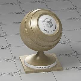 橄榄色皮革Vary材质球球