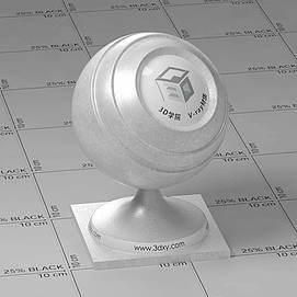 银色皮革Vary材质球球
