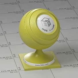 黄色皮革Vary材质球球