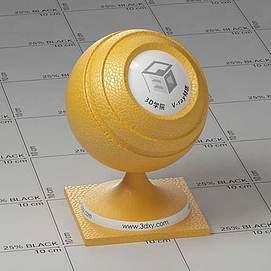 黄色皮Vary材质球球