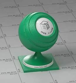 绿色皮革vray材质