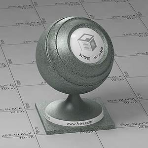 墨綠色皮革Vary材質球球