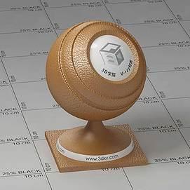 皮革Vary材质球球