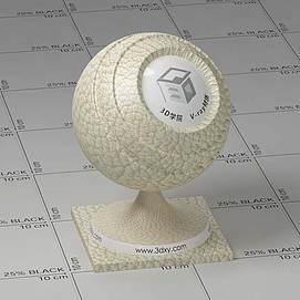 米色皮革Vary材质球球