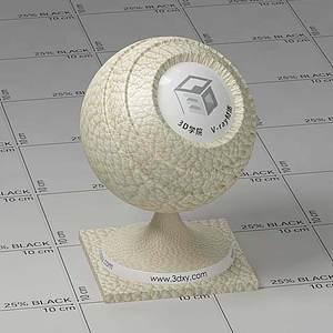 米色皮革Vary材質球球