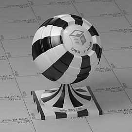 塑料Vary材质球球