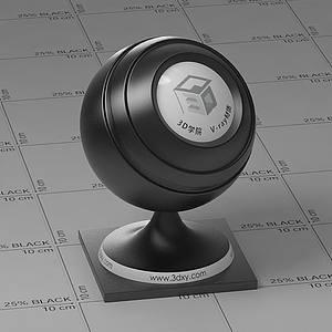 黑色塑料Vary材質球球