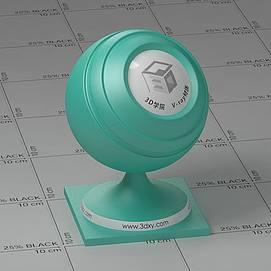 蓝色塑料Vary材质球球