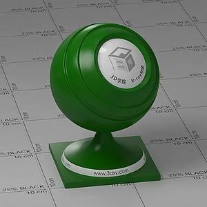 綠色塑料Vary材質球球