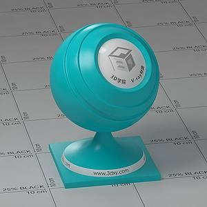 淺藍色塑料Vary材質球球