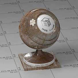 金属Vary材质球