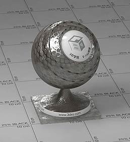 金属vray材质
