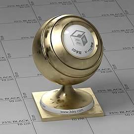 金子Vary材质球球