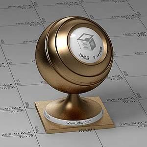 金幣Vary材質球球