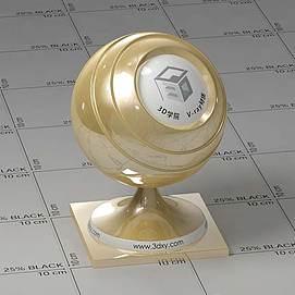黄铜Vary材质球球