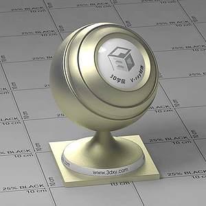 黃色金屬Vary材質球球