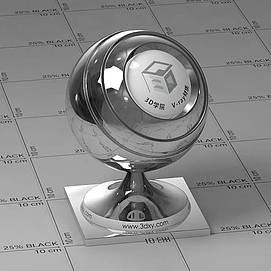铬片Vary材质球球