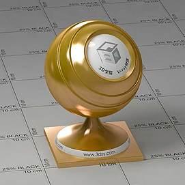 铜色Vary材质球球