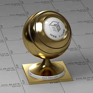 銅色Vary材質球球