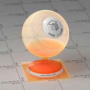 玻璃Vary材質球