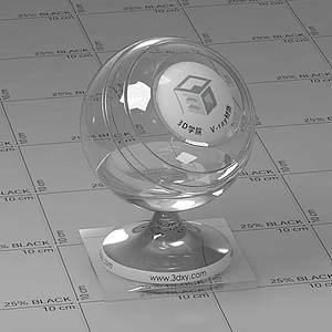玻璃Vary材质球