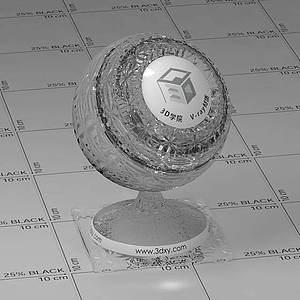 装饰玻璃Vary材质球球