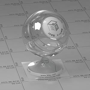 透光镜Vary材质球球