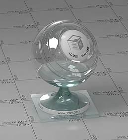 玻璃vray材质