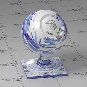 石料Vary材質球球