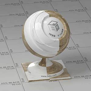 石料Vary材质球球
