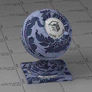 青花布Vary材質球
