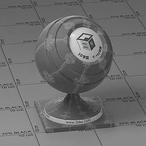 灰布Vary材質球