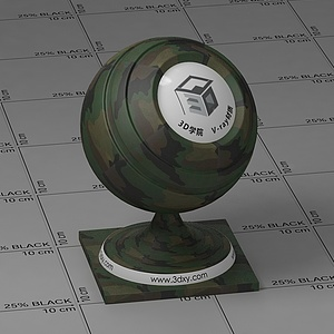 迷彩Vary材質球
