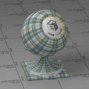 格子布Vary材質球