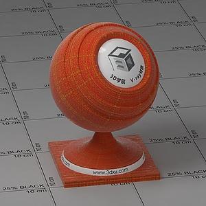 金纹红布Vary材质球